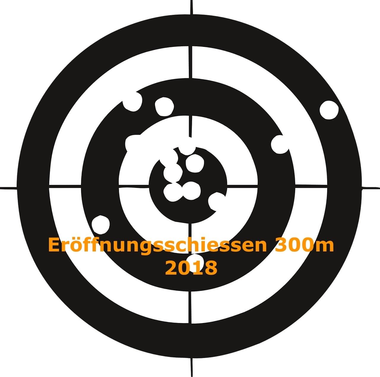 Gewehr Eröffnungsschiessen 2018