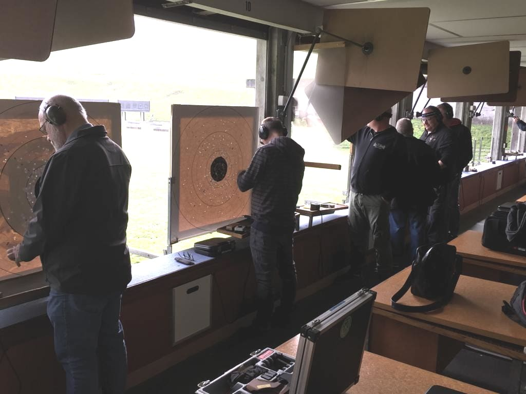 Pistolen-Training